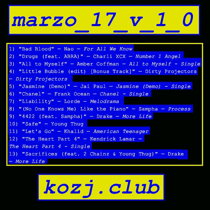 cover for marzo